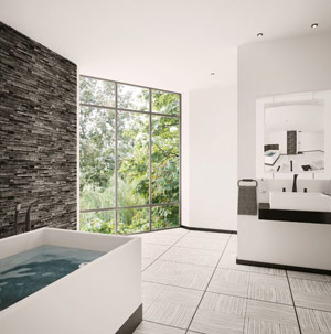 Bathroom Renovation Toronto Tiling Countertops Cabinets