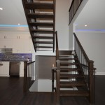 Main stairs+kitchen